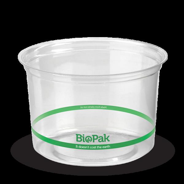 png royalty free stock Beaker transparent 500ml. Bowl biopak clear ml