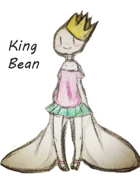 vector transparent King Bean by Zeria