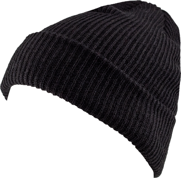 png black and white stock Beanie transparent.  cuff wcb caliheadwear