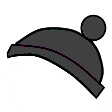 clip art black and white download Beanie transparent cartoon. Black by jayzon on