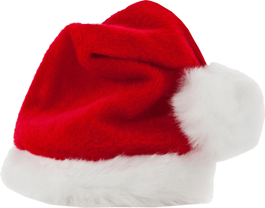 png transparent Christmas Large Red Hat transparent PNG