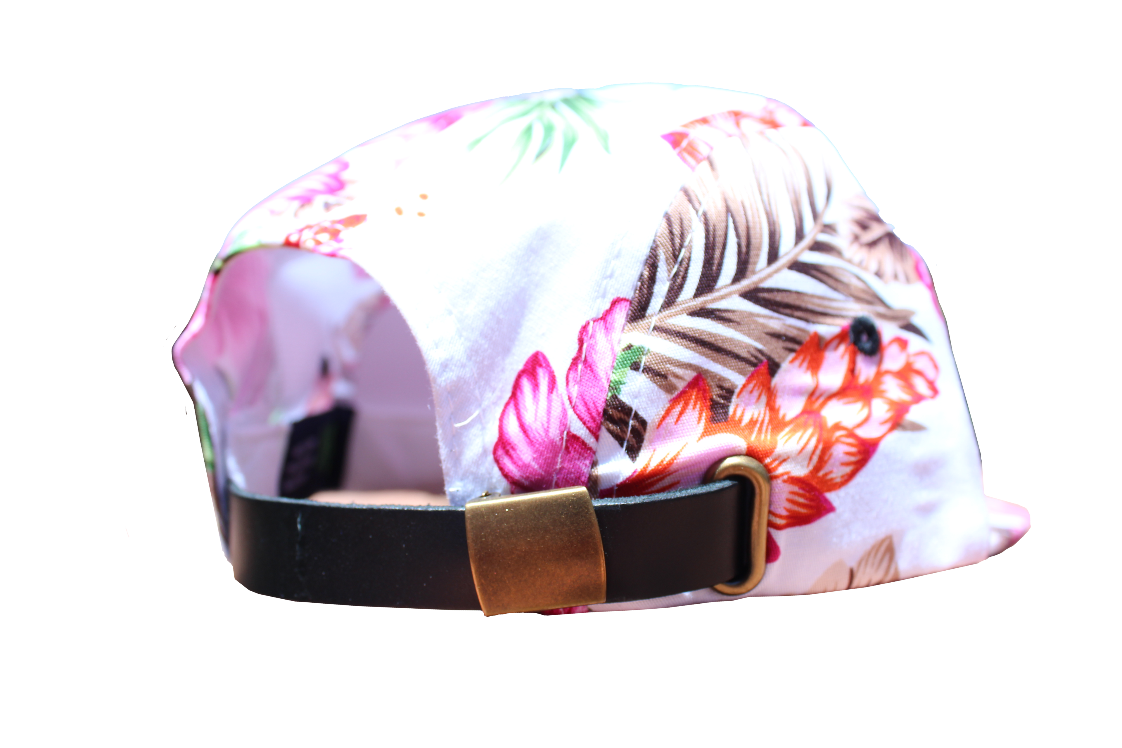 jpg royalty free stock White panel hat . Beanie transparent floral
