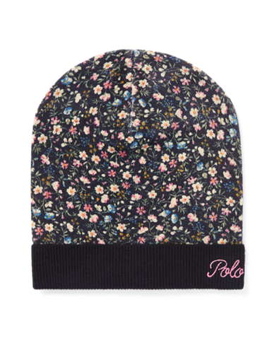 clip art library download Beanie transparent floral. Girls hats scarves gloves