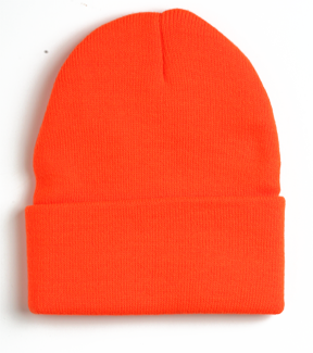 clip art transparent library Beanie transparent orange. Yupoong thinsulate cuffed knit