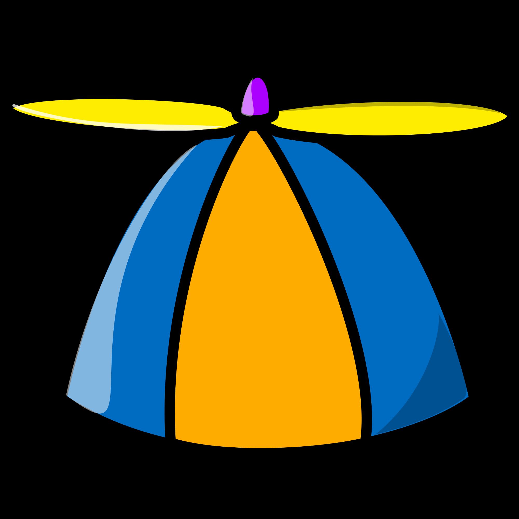 picture stock Beanie transparent propeller. Png file tux paint