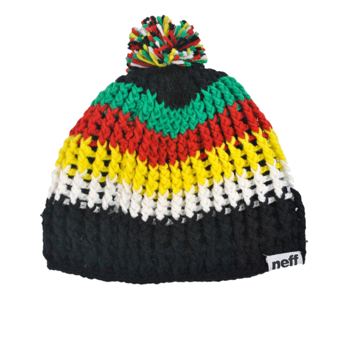 graphic royalty free download Neff womp . Beanie transparent rasta