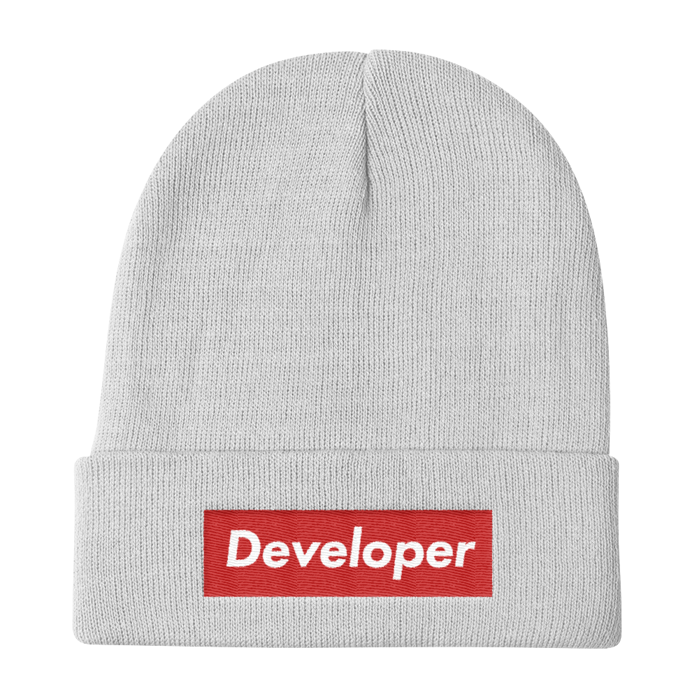 image free library Supreme Developer Beanie