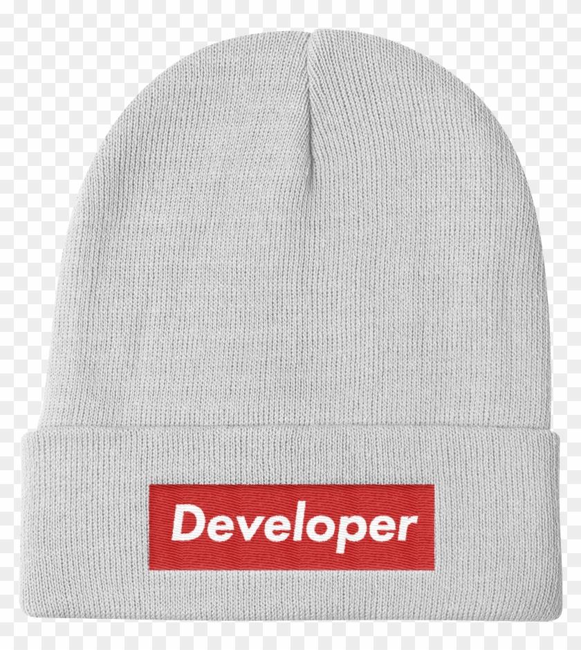 image Clipart developer dvlpr apparel. Beanie transparent supreme