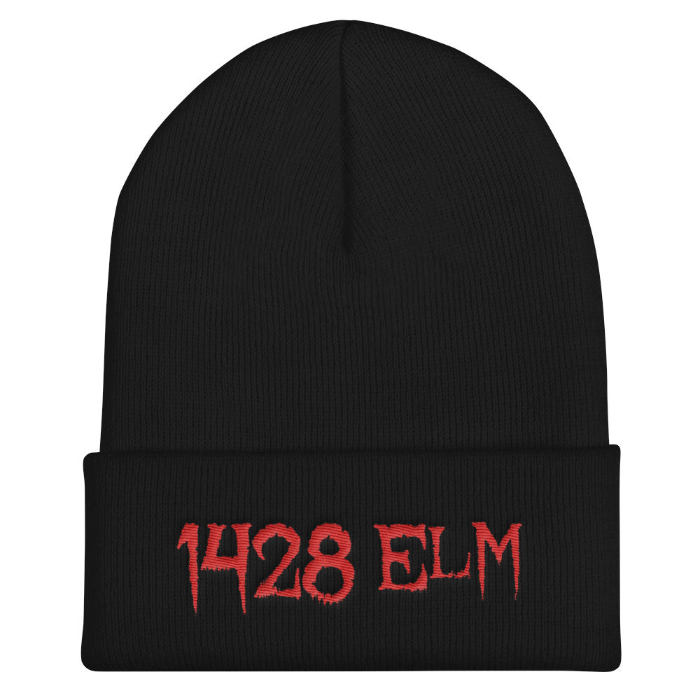 png black and white stock Beanie transparent swag.  elm cuffed