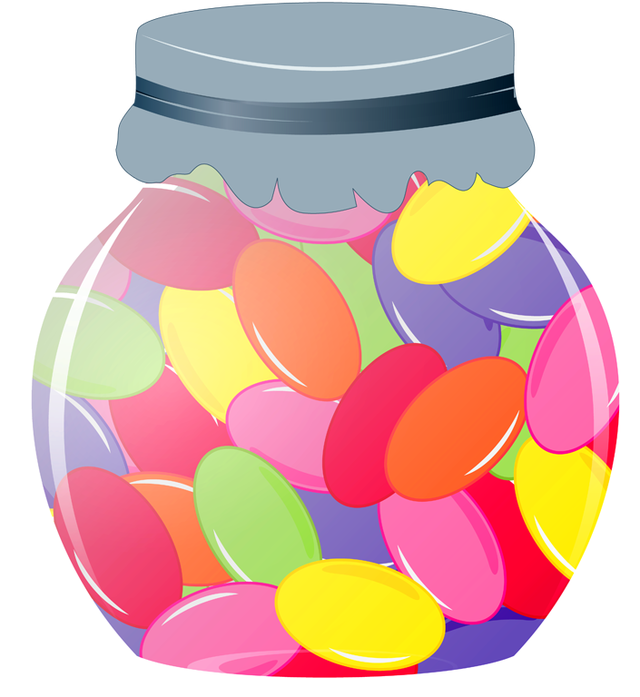 clip art royalty free library Who Wants To Eat Jelly Beans
