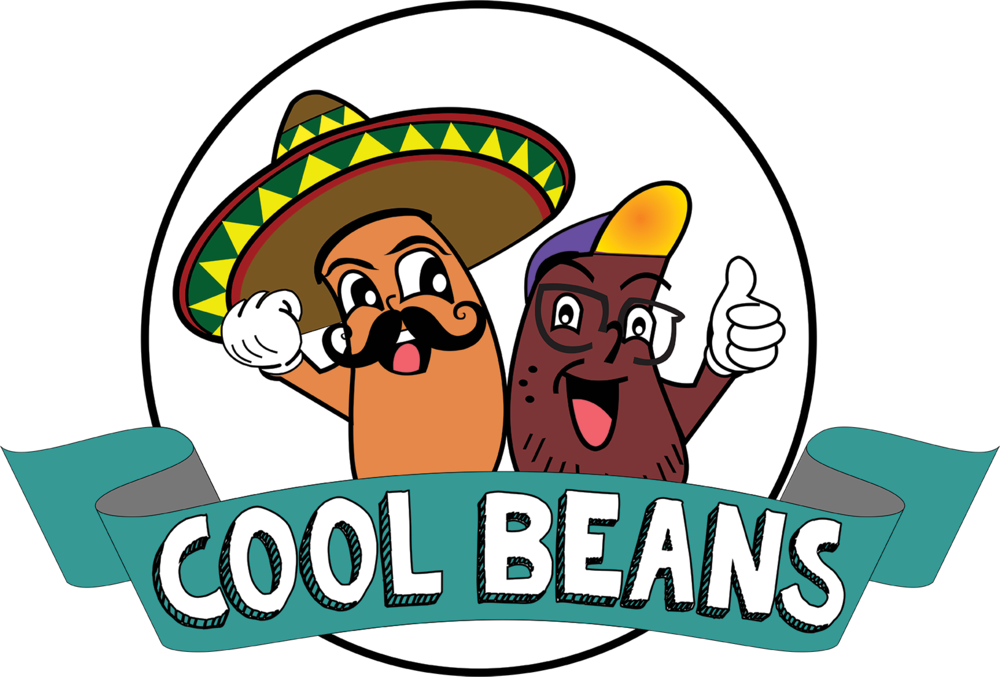 graphic royalty free stock Tacos eatery austin . Beans clipart cool bean.