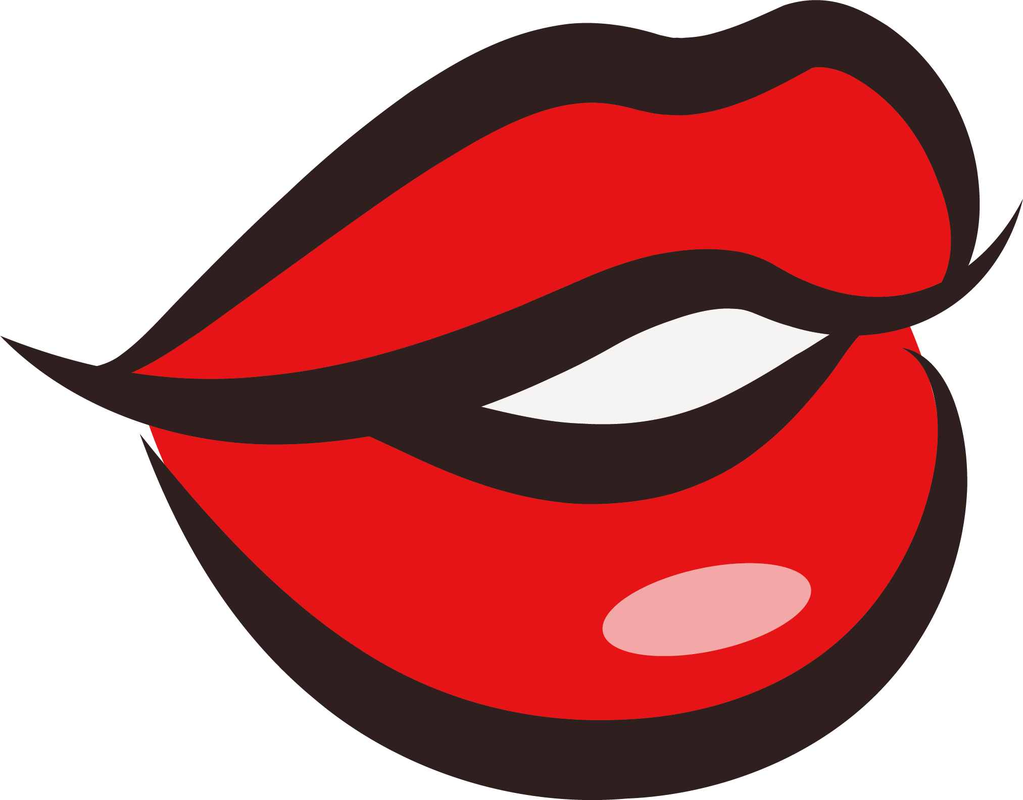 svg stock Kiss painting lip clip. Beans clipart watercolor.
