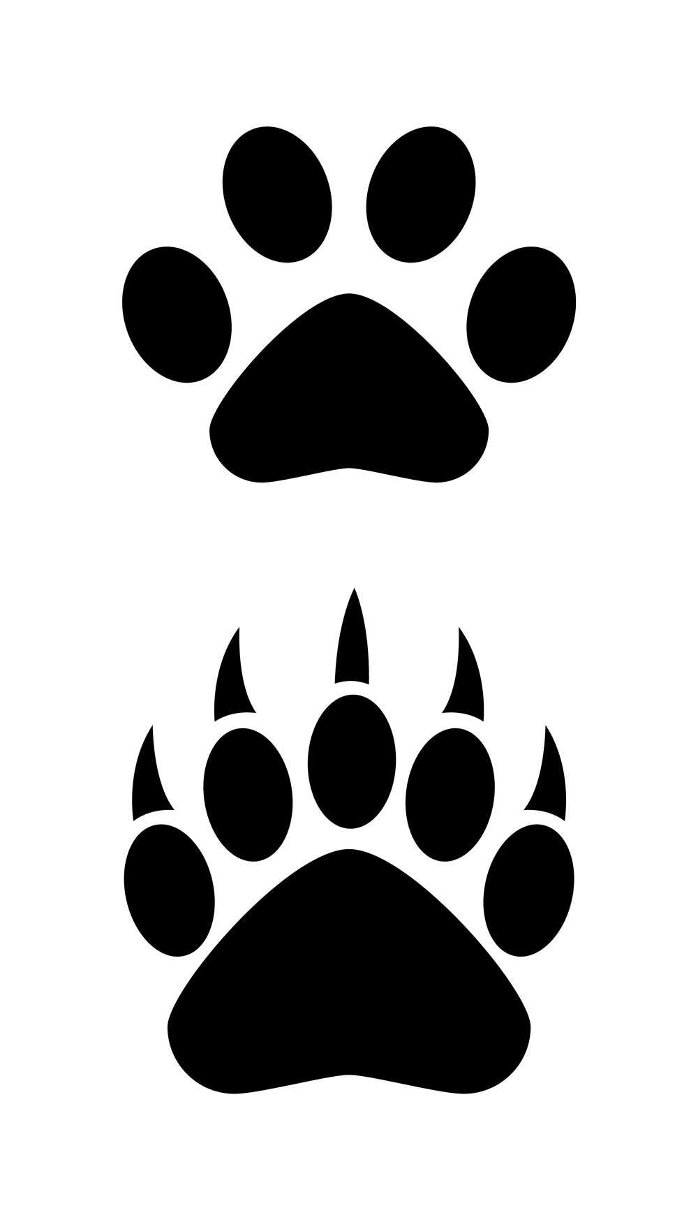 clip library library Bear claws clipart.  claw clipartlook
