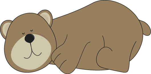image freeuse download Clip art images sleeping. Bear clipart