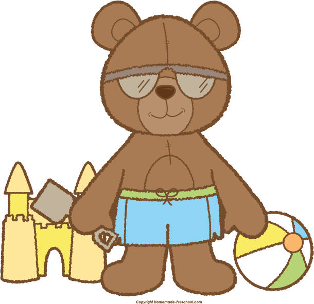 picture royalty free stock Teddy clipart preschool. Bear click to save
