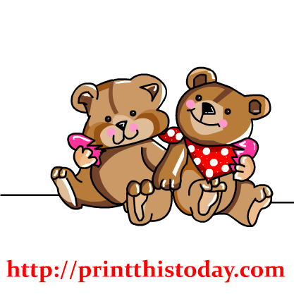 png library stock Teddy love pencil and. Bear clipart free