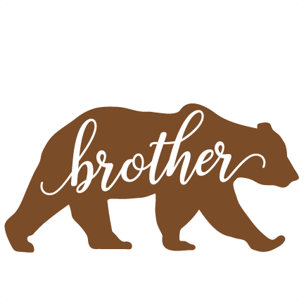 jpg freeuse Brown brother free on. Bear clipart images