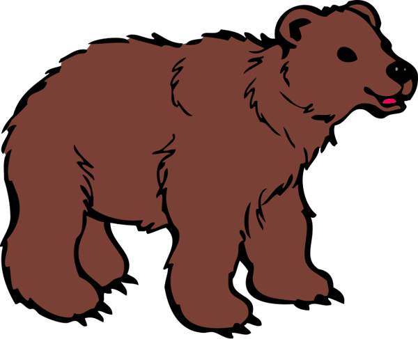 image freeuse download Bear clipart images. Grizzly silvertip graphics free