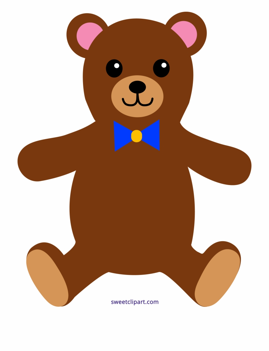 graphic royalty free library Picture free sweet clip. Bear clipart images
