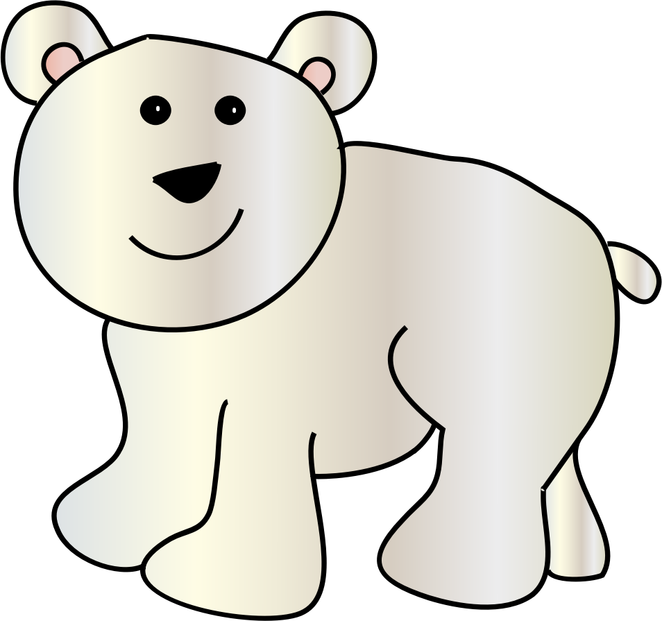 png free stock Polar Clipart sitting bear