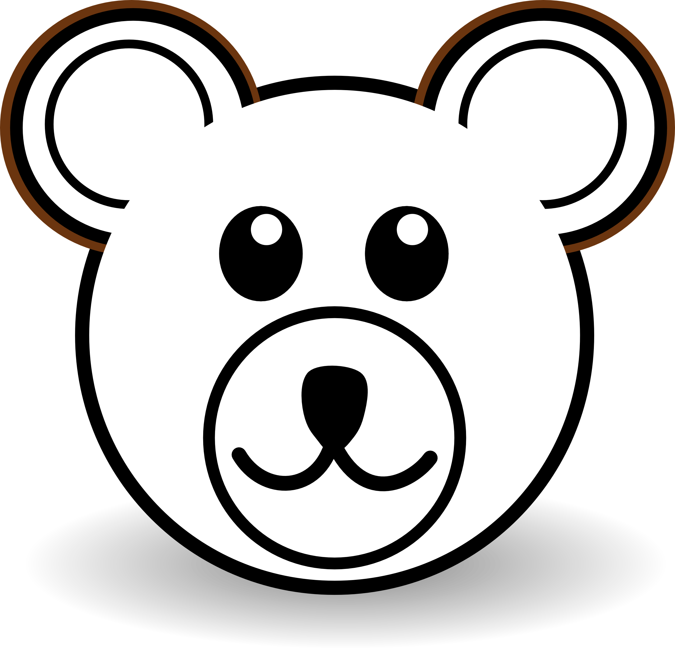 download Bear clipart outline. Outstanding of a teddy