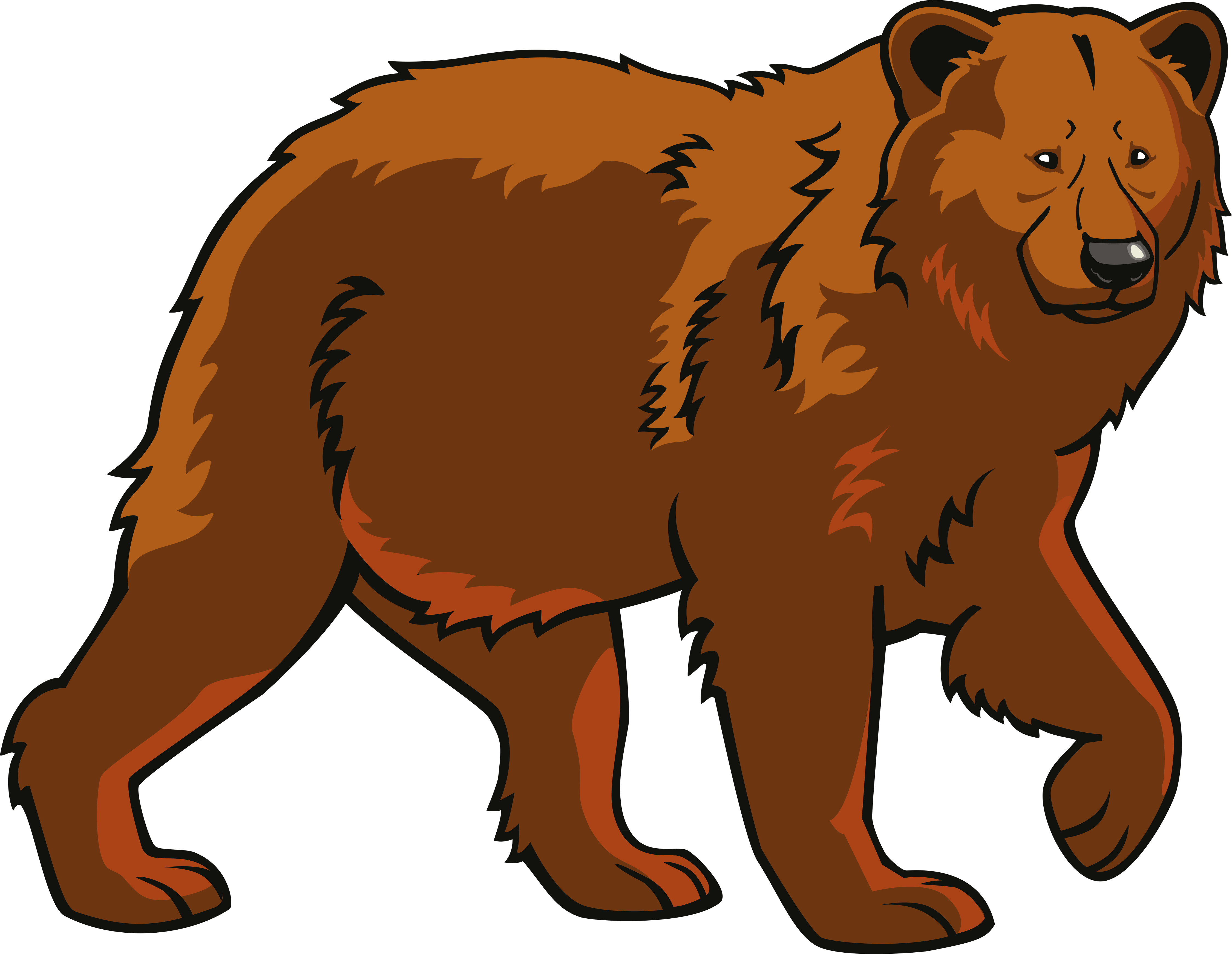 png royalty free download Polar eurasian brown clip. Bear clipart png