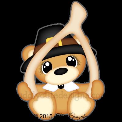 banner free Cuddly cute designs files. Bear clipart thanksgiving.