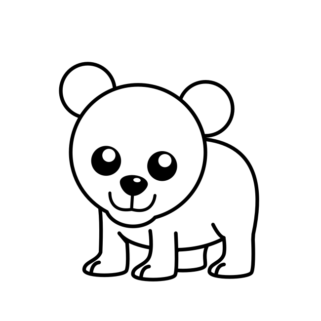 picture freeuse download Image of cub clip. Bear cubs clipart