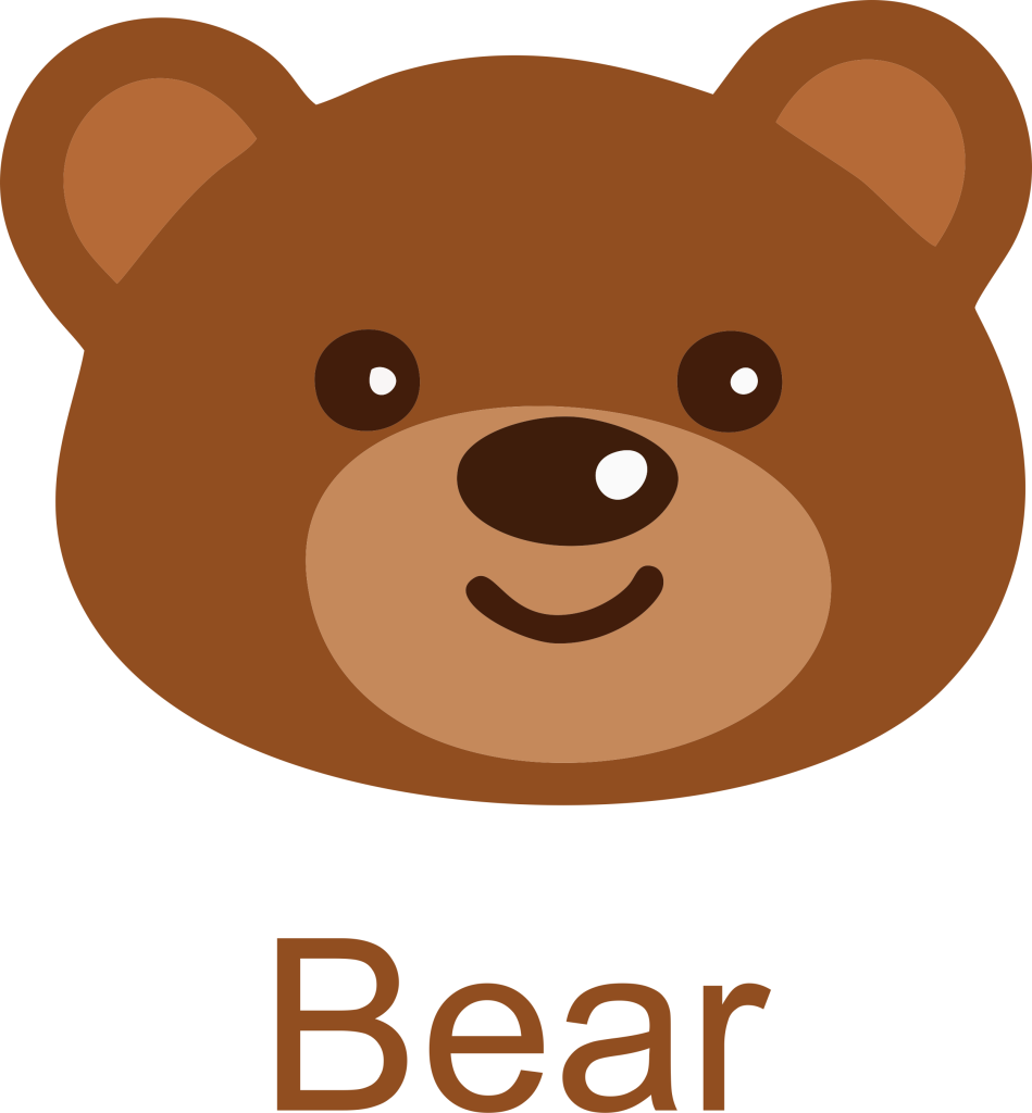jpg free stock Bear face clipart. Picture free download daily