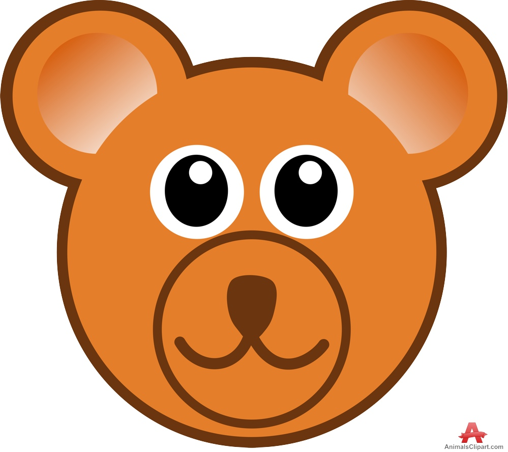 jpg royalty free stock Bear face clipart. Free cliparts download clip