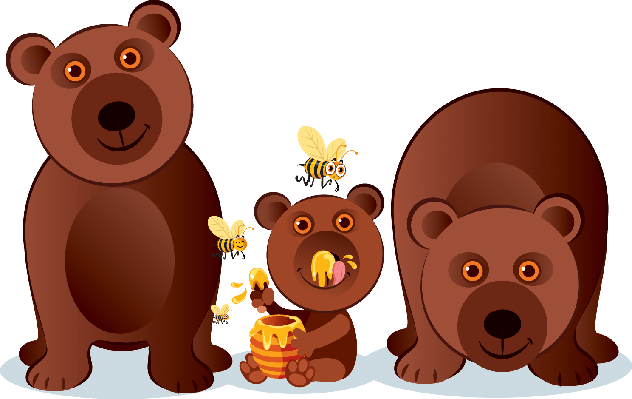 clip art transparent download The arts image pbs. Bear family clipart
