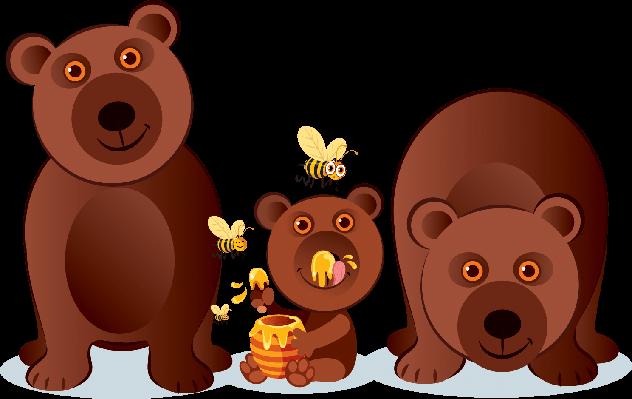 clip royalty free Bear Family