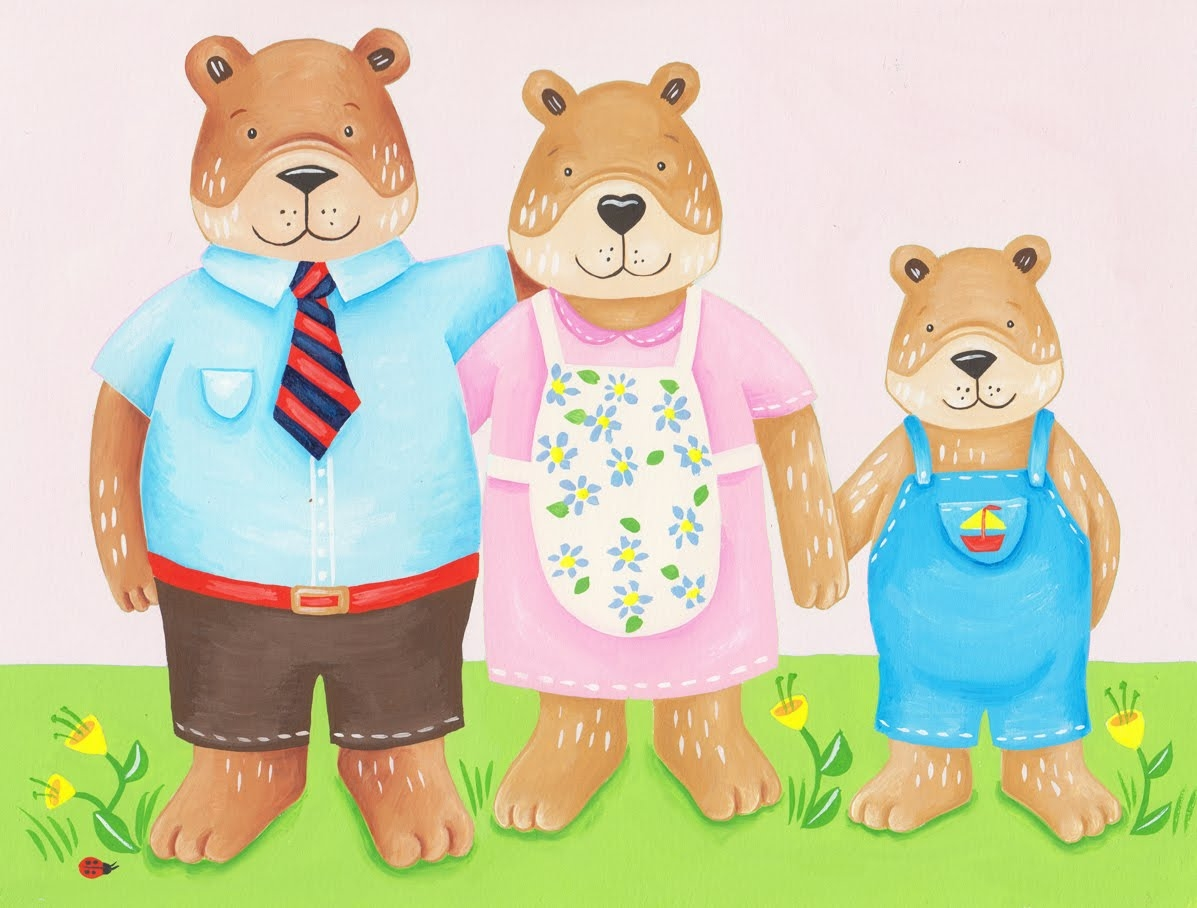 graphic free Free cliparts download clip. Bear family clipart