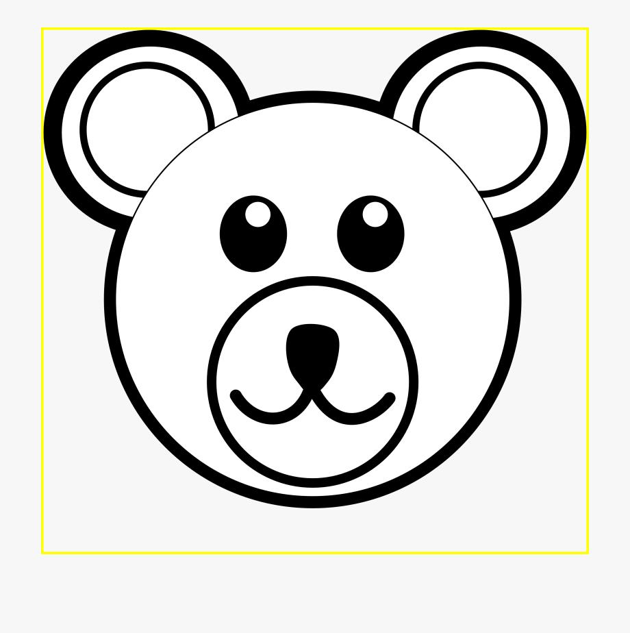 vector black and white Koala black and white. Bear head clipart