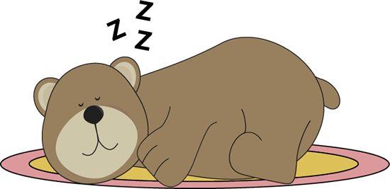 transparent library Bear hibernating clipart. Free hibernation cliparts download