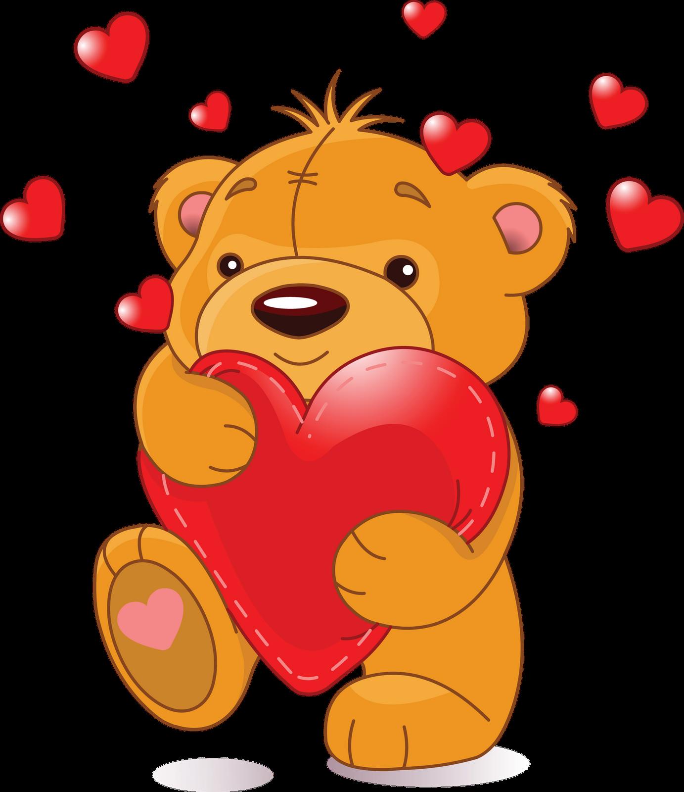 clip free Create a positive day. Bear hug clipart