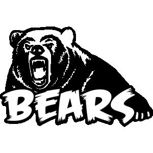 vector download Bear mascot clipart. Grizzly e bea b