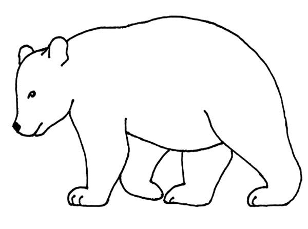 banner stock Free download clip art. Bear outline clipart