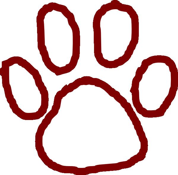 svg transparent stock Bear paw clipart. Clip art at clker