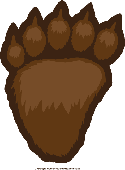 clipart transparent library Print png pixels oso. Bear paw clipart