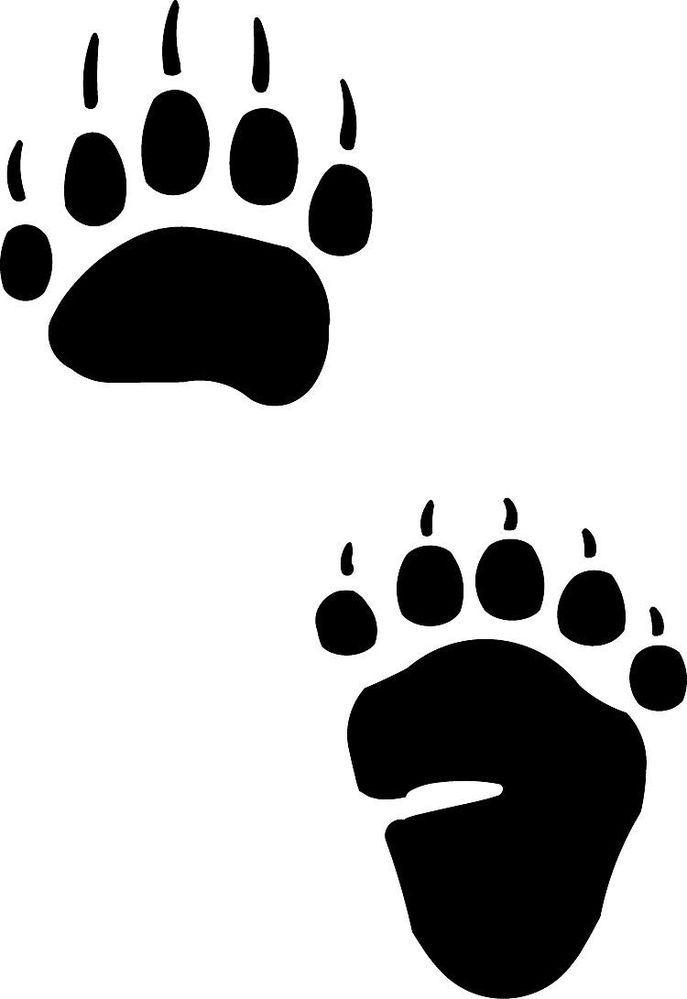 image transparent And grass tattoo native. Bear tracks clipart