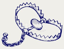 banner freeuse download Stock vectors me . Bear trap clipart