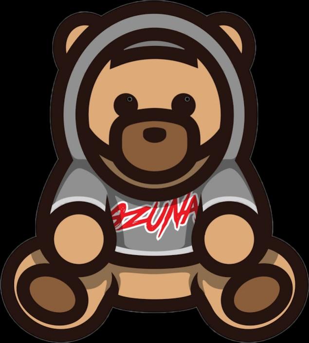 clip free library Ozuna oso sticker by. Bear trap clipart