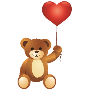 clip free stock Bear with balloons clipart. Free balloon cliparts download