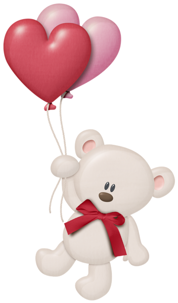 graphic library stock Bear with balloons clipart. Http favata rssing com