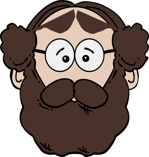 jpg royalty free Man clip art at. Beard clipart