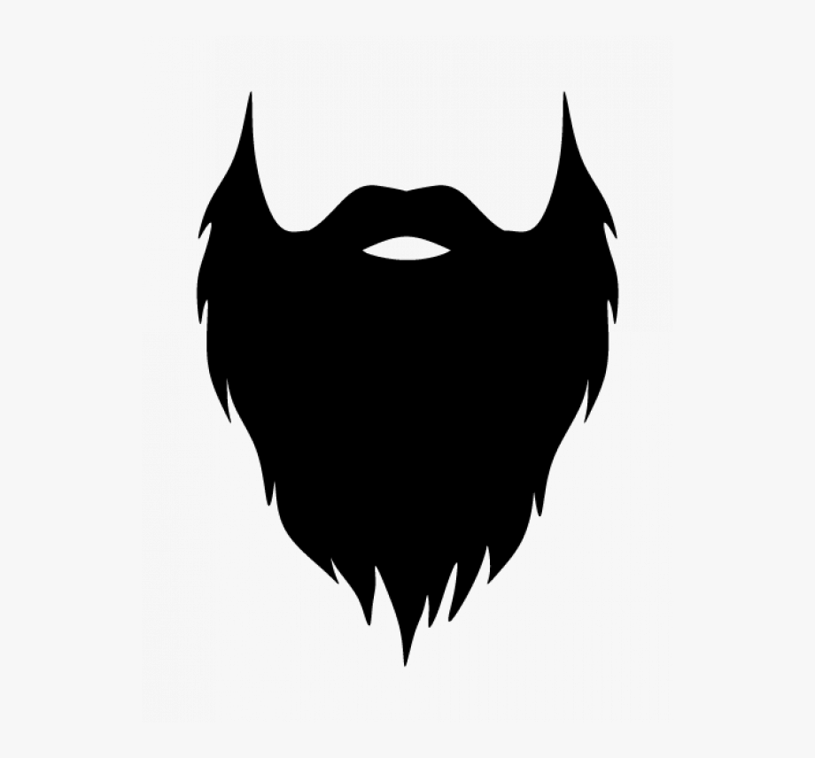 graphic freeuse Beard clipart. Transparent background free