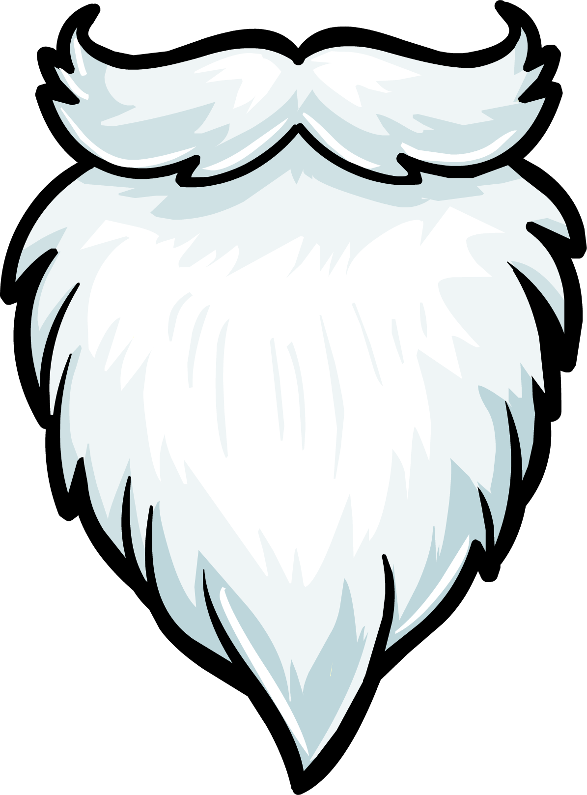 graphic royalty free stock Santa google search christmas. Beard clipart.