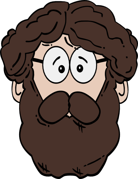 freeuse library Long Beard Clipart