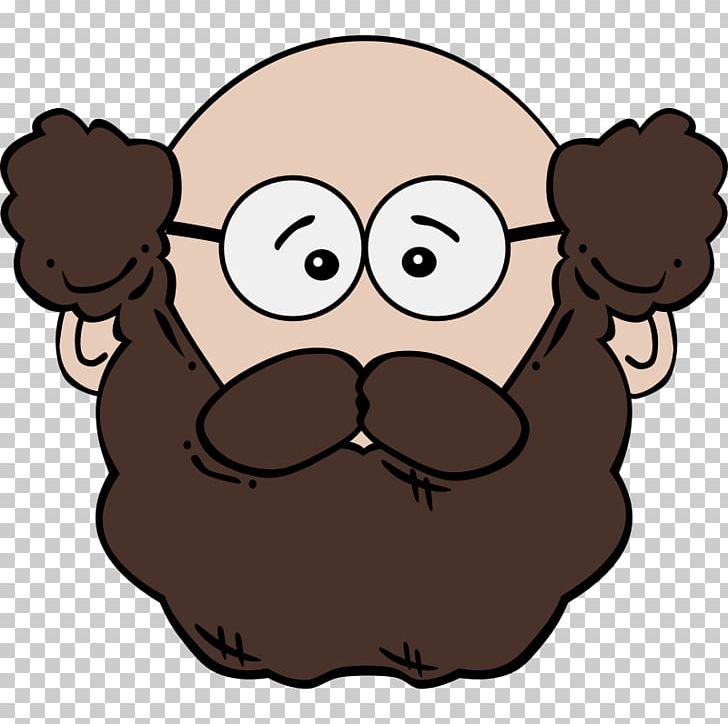 clipart black and white Cartoon man png animation. Beard clipart animated